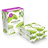 Earth Rated Dog Wipes, 400 Plant-Based and Compostable Wipes for Dogs, USDA-Certified 99 Percent Biobased, Hypoallergenic, Lavender-Scented 8x8 Deodorizing Grooming Pet Wipes for Paws, Body and Butt