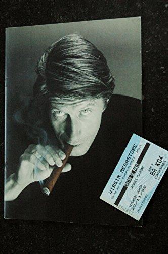 Jacques DUTRONC Casino de Paris * 1992 * Programme et Ticket Place