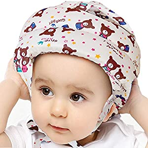 IULONEE Baby Infant Toddler Helmet No Bump Safety Head Cushion Bumper Bonnet Adjustable Protective Cap Child Safety Headguard Hat for Running Walking Crawling Safety Helmet for Kid