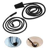 2 unids/set Cepillo de limpieza de tubería para envío directo Cepillo de limpieza para drenaje de tubería Herramienta de depilación