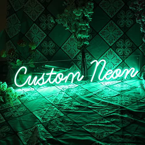 Personalized Neon Signs, Customize Your Neon Signs Anyway You Want Handmade Custom LED Signs for...