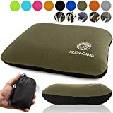 Best Inflatable Camping Pillows - Inflatable Compact Camping Backpacking Pillow - Ultralight Portable Review