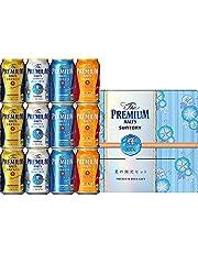 【お中元 ビールギフト】 ザ・プレミアム・モルツ 醸造家の贈り物 夏仕立て入 輝 4種アソートセット VA3S [ 350ml×12本 ]