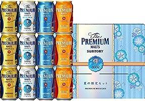 【父の日/ビールギフト】 ザ・プレミアム・モルツ 醸造家の贈り物 夏仕立て入 輝 4種アソートセット VA3S [ 350ml×12本 ]