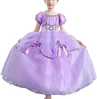 ソフィア ドレス コスチューム なりきりキッズドレス 子供 お姫様 プリンセスドレスお姫様 ワンピース ディズニーお姫様ドレス 女の子ちいさなプリンセス ソフィア