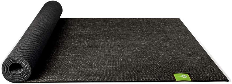 ZJZDLST Yogamatte, Dicke Rutschfeste Yogamatte Für Herren Und Damen, Elastische Verbreitungsmatte Für Fitnessmatten, 183 × 66 cm, Mehrfarbig Optional