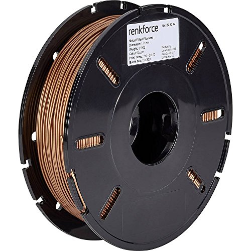Renkforce PLA-filament 1,75 mm koper 500 g