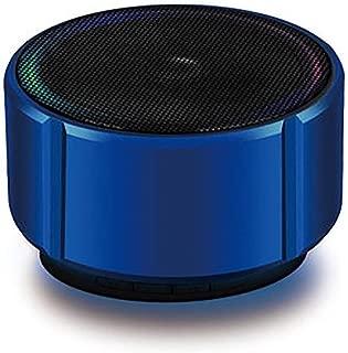 MINGTAI Bluetooth Speaker Mini Bluetooth Audio Metal Subwoofer Wireless Card Cannon Mobile Phone Audio Game Audio (Color : Blue)
