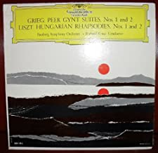 Grieg: Peer Gynt Suites, Nos. 1 and 2 / Liszt: Hungarian Rhapsodies Nos. 1 and 2, Bamberg Symphony Orchestra, Richard Kraus, Conductor.