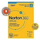 NORTON 360 | Deluxe | 3 Gerät | 12 Monate | PC/Mac | Aktivierungscode per Email