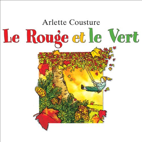 Le rouge et le vert  audiobook cover art