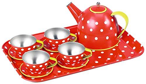 Kinder-Geschirr aus Metall Fröhliche Tupfen Garden Kids