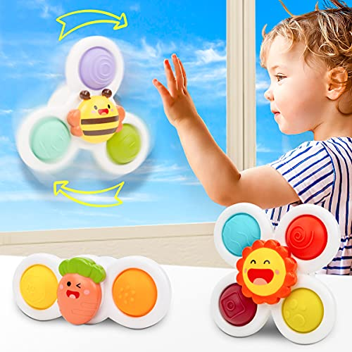 UNIH Spinning Top Sensory Toys for Toddlers Age 1-3, Infant Baby Toys 12-18 Months...