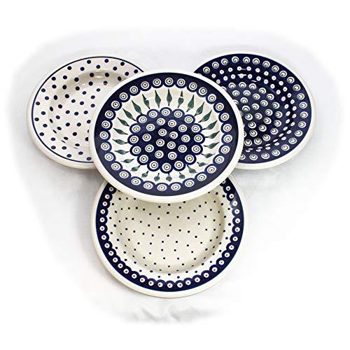 Bunzlauer Keramik 4er Suppenteller-Set