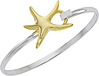Cape Cod Jewelry-CCJ Starfish Bracelet Sea Life Latch Cuff