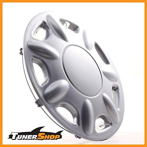 13pulgadas tapacubos TAPACUBOS–Tapacubos Llantas de Acero Hyundai # 2431945Plata Invierno Verano