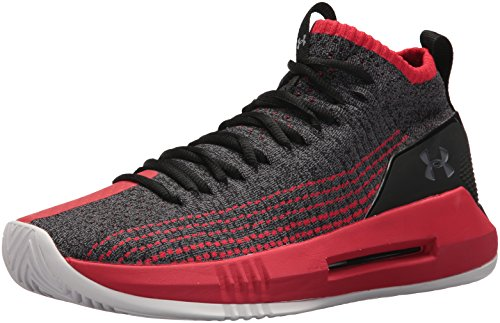 Under Armour UA Heat Seeker, Zapatos de Baloncesto para Hombre, Negro (Black 002), 48.5 EU
