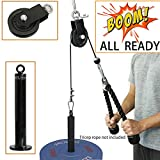 SYL Fitness LAT Pulley System with Olympic Plate Loading Pin(Size:B)