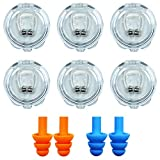 Silicone Magnetic Anti Snore Clip, 8 Pack, GNAWRISHING Anti Snoring Devices, Effective-Easy Stop Snoring Solution,Professional Sleepin Aid Relieve Snore, Sleeping Comfortably for Family Members