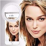 i-Tronixs - Anello Luminoso per Selfie con Clip per ASUS Z2 Poseidon, con 36 LED per Smartphone, Forma Rotonda