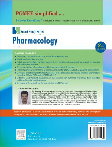 Smart Study Series Pharmacology