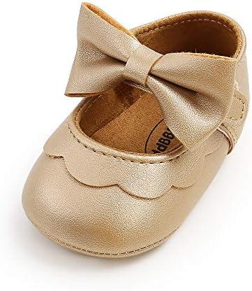 033 Chaussure b/éb/é Fille Antid/érapants Bowknot Princesse Ballerine B/éb/é Chaussures Prewalker antid/érapantes pour b/éb/é