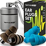 Premium Concert Ear Plugs - High Fidelity Sound Blocking Noise...