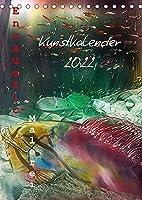 Encaustic-Malerei Kunstkalender 2022 (Tischkalender 2022 DIN A5 hoch): Eine farbenpraechtige Reise durch das Jahr der Encaustic-Unikate (Monatskalender, 14 Seiten )