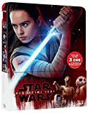 Star Wars - Gli Ultimi Jedi (Blu-Ray 3D+Blu-Ray) (Ltd Steelbook) [Blu-ray]