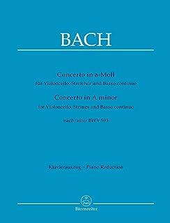 Concerto for Violoncello in A minor after BWV 593 (Cello & Piano)
