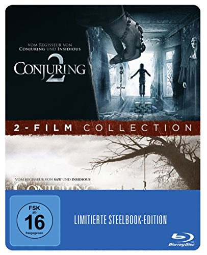 Conjuring 1 + 2 Steelbook (exklusiv bei Amazon.de) [Blu-ray] [Limited Edition]