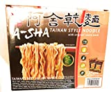 A-Sha Healthy Ramen Noodles - Original Sauce Pack Included, Thin Size Tainan Noodles - Large 12 Packs (3.35 oz each Pack)