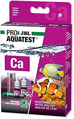 Calcium Test Schnelltest zur Bestimmung des Kalziumgehalts in Meerwasser-Aquarien