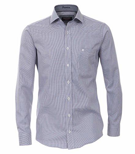 CASAMODA Uomini Camicia per ufficio 362563600 100% cotone - Modern Fit blu scuro 39