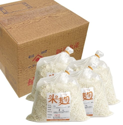 米麹 1kg×4袋入り 新潟県産コシヒカリ米使用 生麹 冷凍