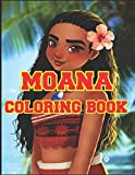 MOANA COLORING BOOK: This is a great product that will blow your mind