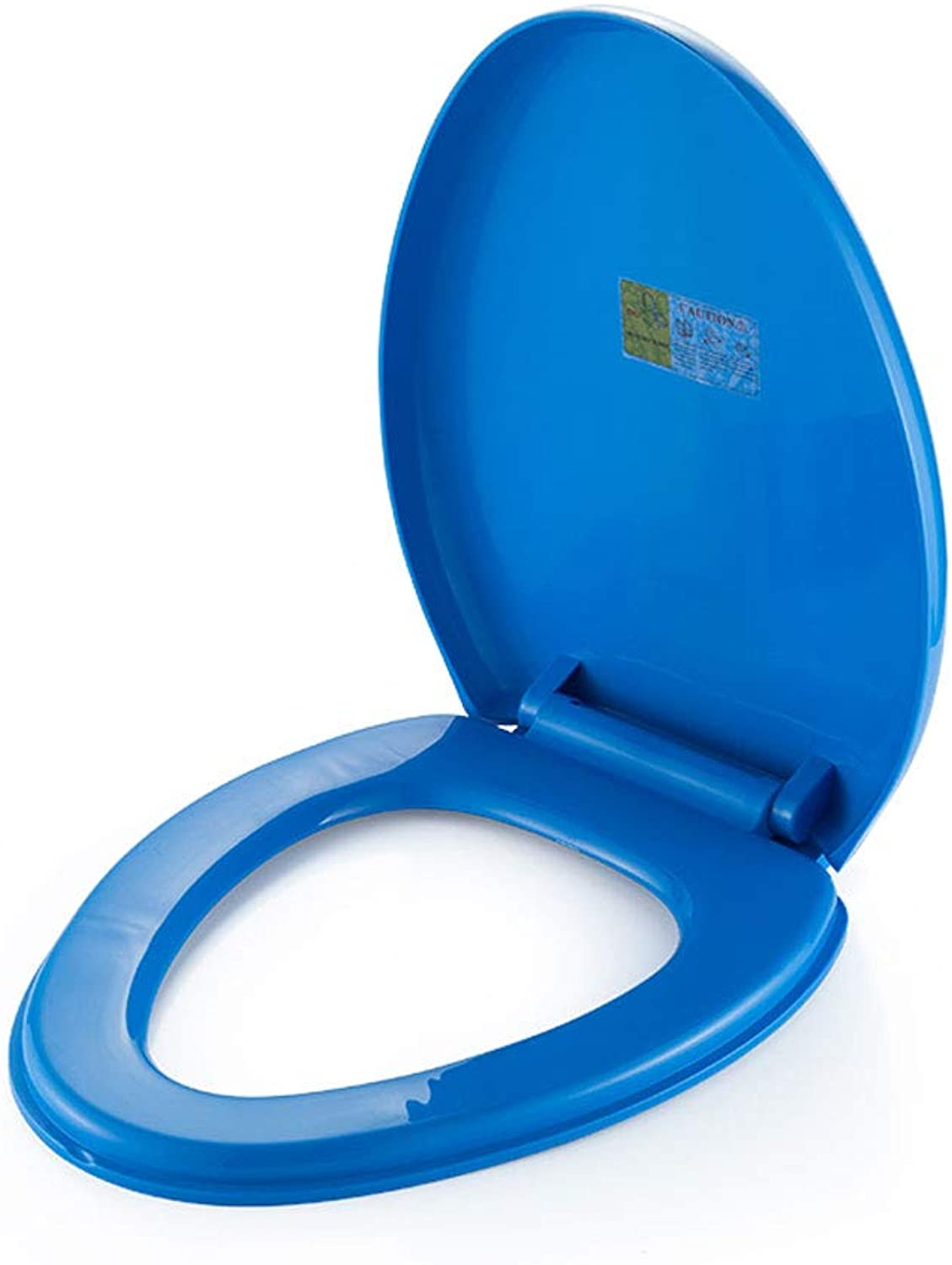 KR Thick General Purpose U Type Toilet Lid Tops color Toilet Toilet Cover Quick Release Toilet Lid Old Fashioned Accessories,bluee