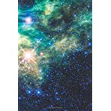 """Journal: Blank Lined Journal for Writing, Newborn Stars in the Constellation Camelopardalis (The Giraffe), Space/Astronomy Theme, Glossy Cover, 6x9"""", 120 Pages (Space/Astronomy Theme - Glossy Cover Journal - Series)"""