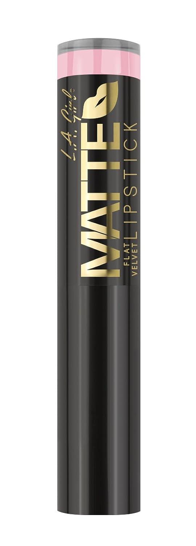 申請中予知懲戒L.A. GIRL Matte Flat Velvet Lipstick Carried Away (並行輸入品)