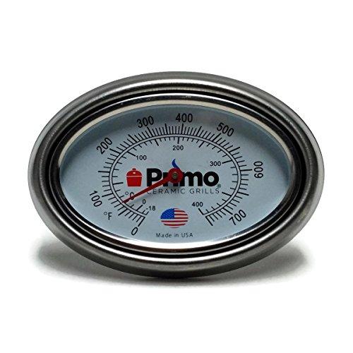 Primo Grills Thermomètre et Cadre Combo pour Primo en Céramique Grilles – Aujourd'hui 200% Plus Grand et possibilité de calibrage