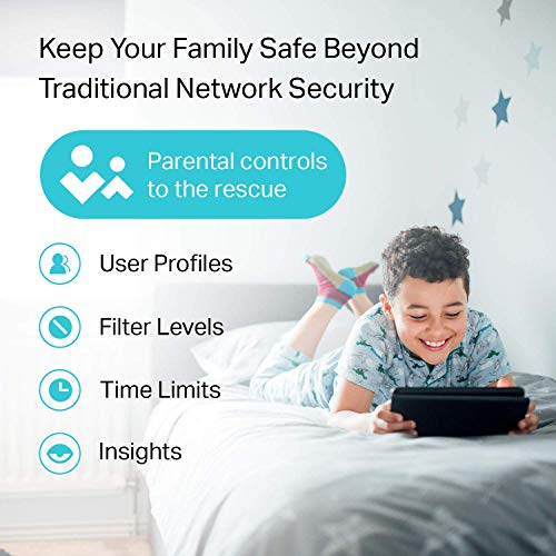TP-Link AC1750 Smart WiFi Router - Dual Band Gigabit Wireless Internet Router for Home, Works with Alexa, VPN Server, Parental Control