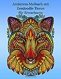 Antistress-Malbuch mit Zendoodle-Tieren für Erwachsene
