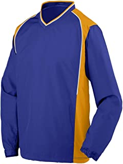 Augusta 3745 - Adult Water Resistant Polyester Diamond Tech V-Neck Pullover