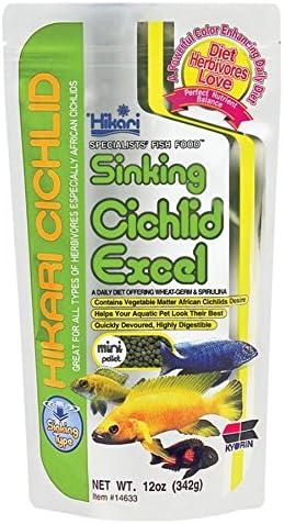 Hikari Cichlid Excel Sinking Fish Food (Mini), 342 g