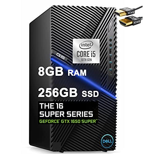 Dell 2021 Flagship G5 5090 Gaming Desktop Computer 10th Gen Intel Hexa-Core i5-10400F