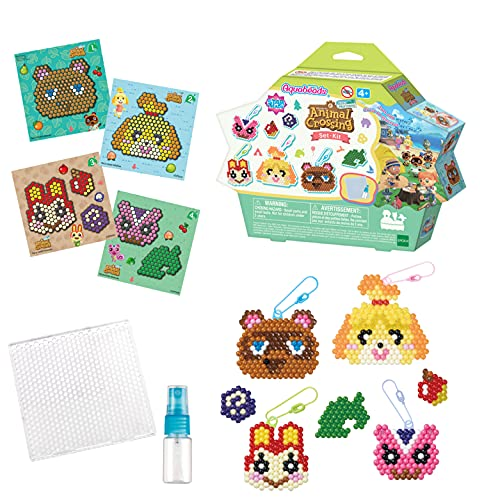 Aquabeads Animal Crossing: New Horizons Character Set, Kids Crafts, Beads, Arts and Crafts, Complete Activity Kit (31832)