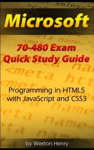 Microsoft 70-480 Exam Quick Study Guide (English Edition)