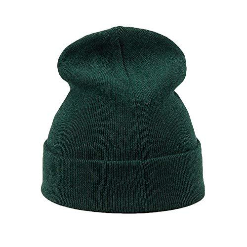 Polo Ralph Lauren Herren Mütze - Beanie, Logo Brand, FO HAT-HAT, One Size Grün