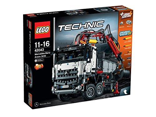LEGO - Mercedes-Benz Arocs 3245, Multicolor (42043)