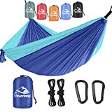 Favorland Camping Hammock Double & Single...